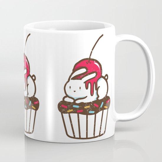 Chubby Bunny on a cupcake Mug