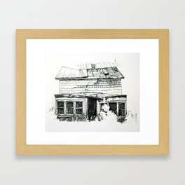 Succumb Framed Art Print