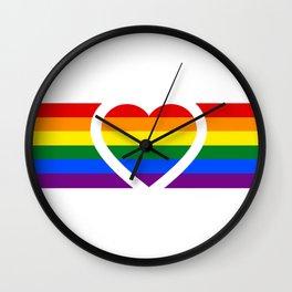 Love is love.  Wall Clock