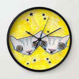 """""""Oro?"""" Gemini Wall Clock"""