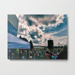 """""""Cloud Cover"""" Metal Print"""