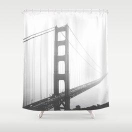Golden Gate Bridge in San Francisco, California Shower Curtain