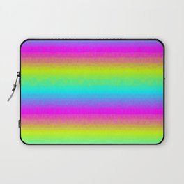 Neon Stripes Laptop Sleeve