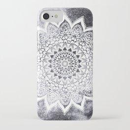 BOHO WHITE NIGHTS MANDALA iPhone Case