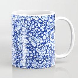 Flower Field Blue and White Coffee Mug