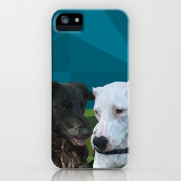 Barry Dog iPhone Case