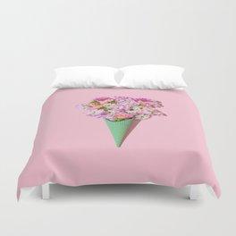 Flower Flurry I Duvet Cover