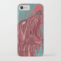 the hound iPhone & iPod Cases featuring HOUND CRY by DeerKat