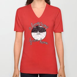 A Long Way From Home Unisex V-Neck