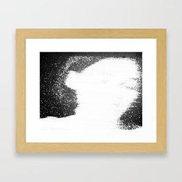 coal mining accident 2 Framed Art Print
