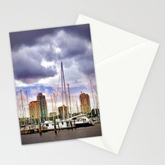 Sailing in the City Stationery Cards