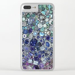 Diamonds, Jewels, (Gems & The Hologram) Clear iPhone Case
