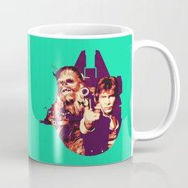 Han Solo & Chewbacca Coffee Mug