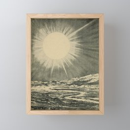 Lucas Albert Reed - Astronomy and the Bible (1919) - Sirius, a Celestial Furnace Framed Mini Art Print