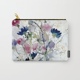 Meadow with Cornflowers Carry-All Pouch