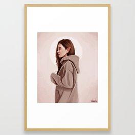 Elf Woman Framed Art Print