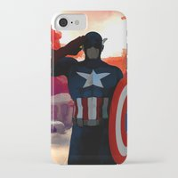 captain iPhone & iPod Cases featuring Captain by Scofield Designs