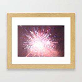 4th of July, '08, FireWork by Jonesy Framed Art Print