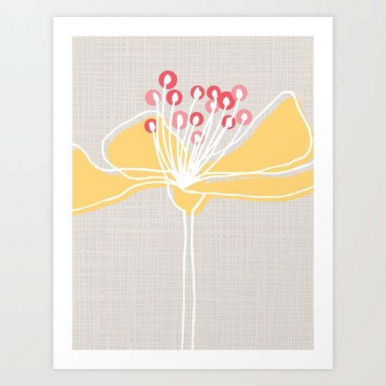 Cherry Blossom: Stone Art Print