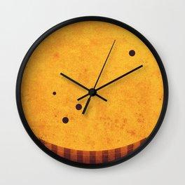 Sun - Sun Spots Wall Clock