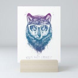 Who's your granny? Mini Art Print