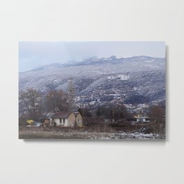 The house on the clearing Metal Print