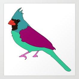 The Winter Bird Art Print
