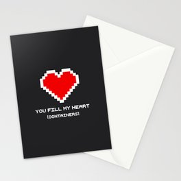 You Fill my Heart (Containers) Stationery Cards