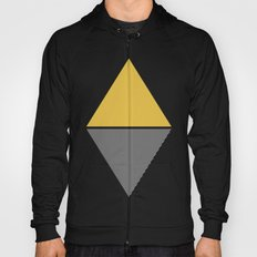 MODERN YELLOW TRIANGLES Hoody