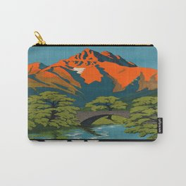 Vintage poster - Switzerland Carry-All Pouch