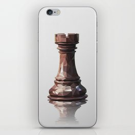 rook low poly iPhone Skin
