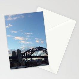 Sydney Australia harbour bridge Stationery Cards