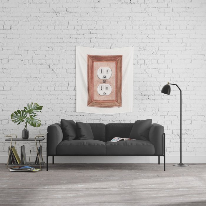 Unplugged Wall Tapestry