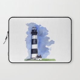 Bodie Island Lighthouse loose watercolor painting Laptop Sleeve