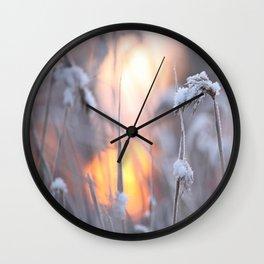 Sunny Winter Day #decor #buyart #society6 Wall Clock