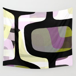 Mid Century Abstract 1 Wall Tapestry