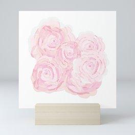 Shabby Chic Roses Mini Art Print