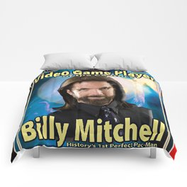Billy Mitchell card (rare) Comforters