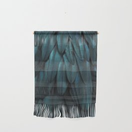 DARK FEATHERS Wall Hanging