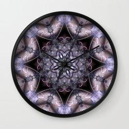 Luxurious Fractal Wall Clock