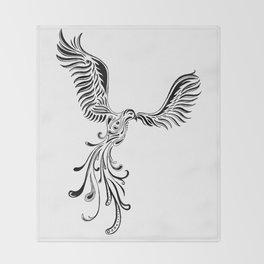 Phoenix Throw Blanket
