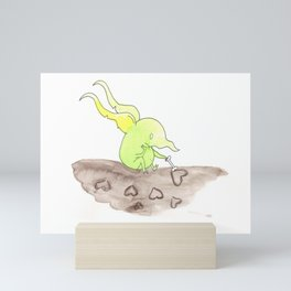 Lovesick Goblin Mini Art Print