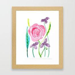 Spring floral 2 Framed Art Print