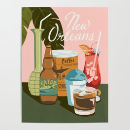 Drinks of Nola Poster
