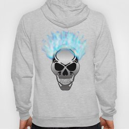 Flaming Skull Hoody