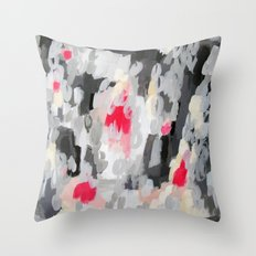 No. 70 Modern Abstract Painting Throw Pillow
