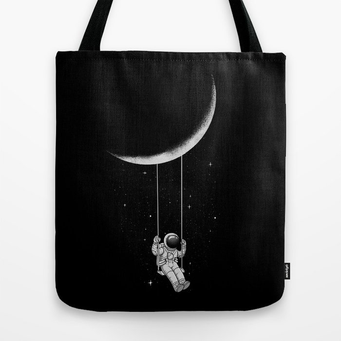 Moon Swing Tote Bag