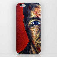 """dramatical murder iPhone & iPod Skins featuring """"Murder"""" by PMS Artwork"""