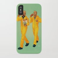 breaking bad iPhone & iPod Cases featuring Breaking Bad by Dave Collinson
