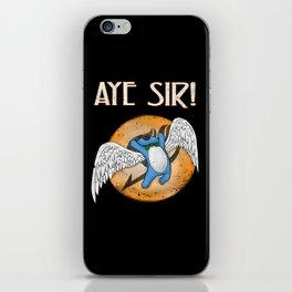 Aye Sir! iPhone Skin